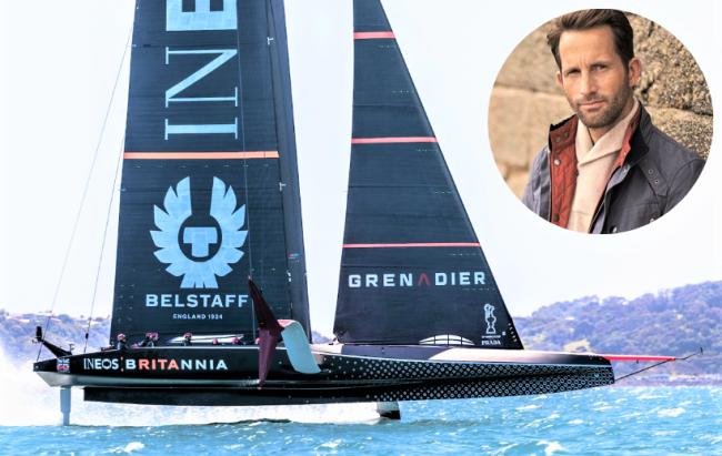 Sir Ben Ainslie's bid to win the America's Cup got off to the worst possible start in the Prada Cup final.