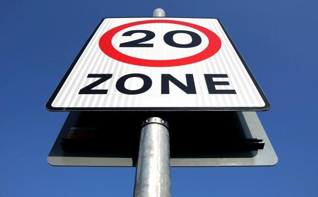 More 20mph zones are being called for on the Isle of Wight. Picture: Dominic Lipinski/PA Wire