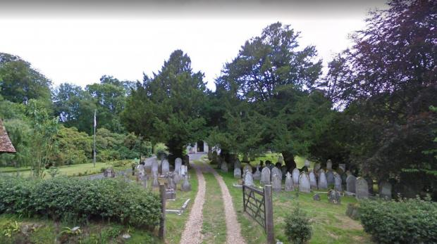 Isle of Wight County Press: Trees in front of St Blasius's Church. Picture: Google Maps.