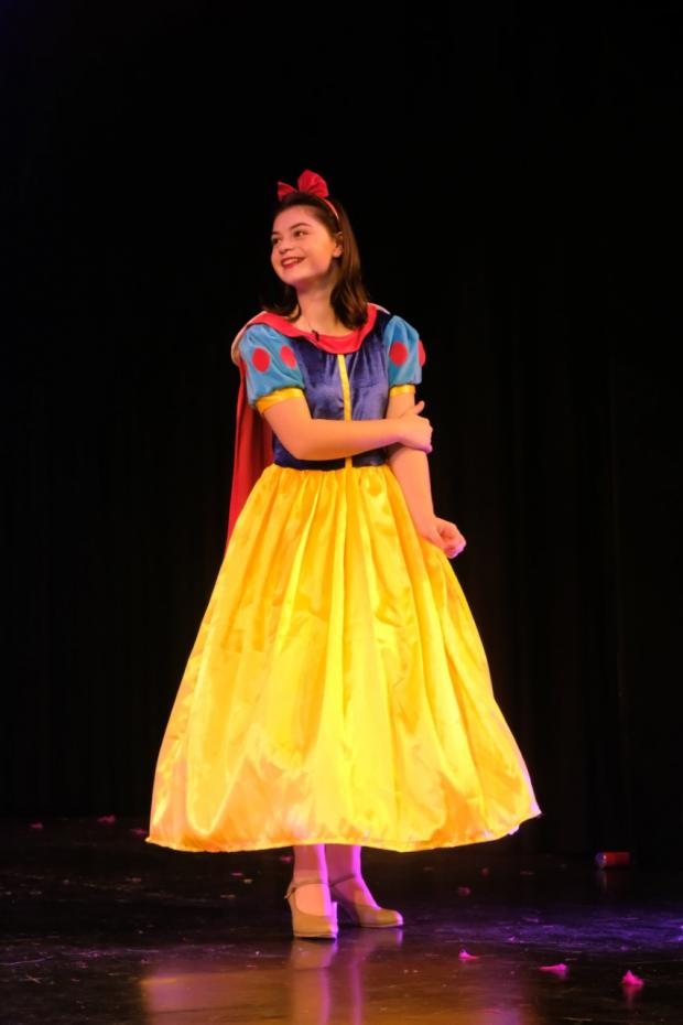 Isle of Wight County Press: Millie as Snow White in 2018