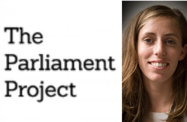 Hannah Stevens, of The Parliament Project.