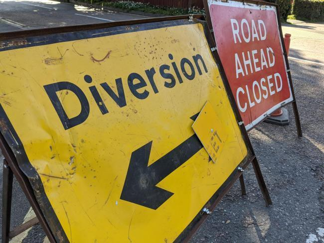 Emergency road closures have been put in place by Island Roads.