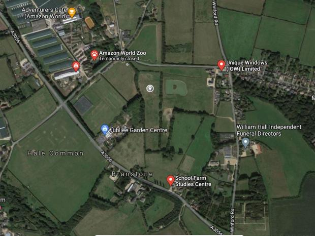 Isle of Wight County Press: The site in Newchurch. (Picture: Google Maps)