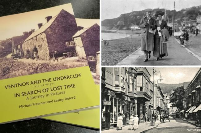 Ventnor & the Undercliff: In search of lost time. A journey in pictures.