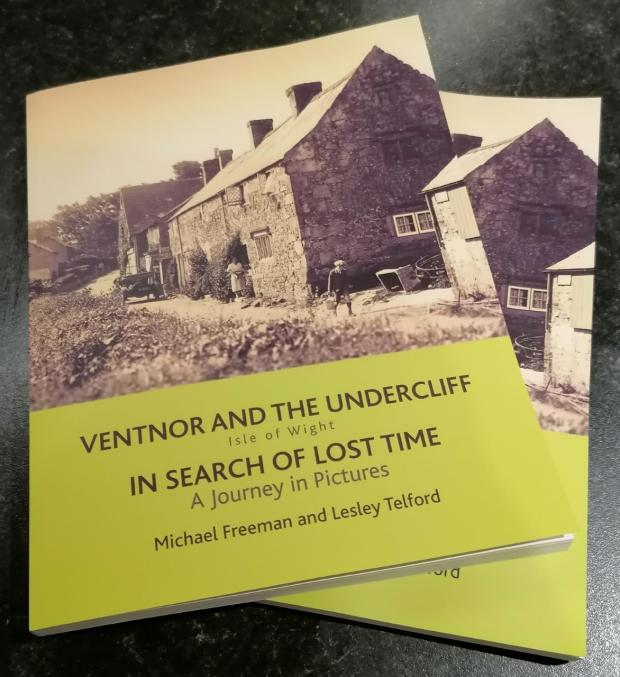 Isle of Wight County Press: The cover of Ventnor & the Undercliff: In search of lost time. A journey in pictures.