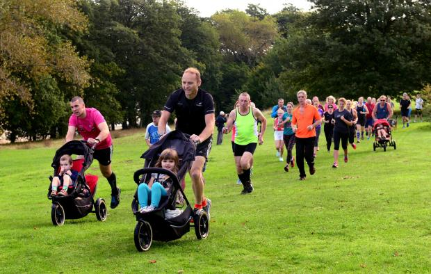 Isle of Wight County Press: Hundreds took part in Medina parkrun each week before each lockdown.