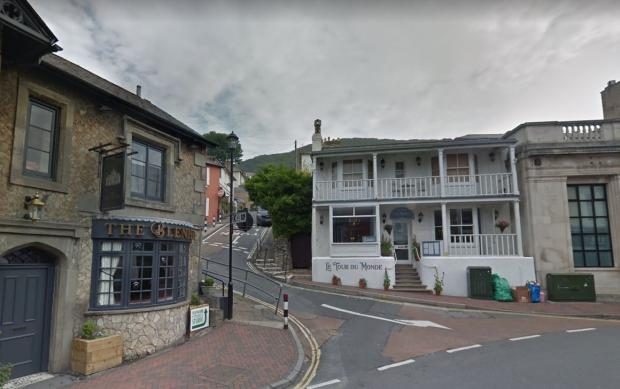 Isle of Wight County Press: The hedge as seen from the High Street, Ventor. (Picture: Google Maps)