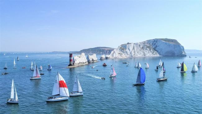 The Round the Island Race is set to return on July 3 after missing a year due to coronavirus.  Photos: Paul Wyeth