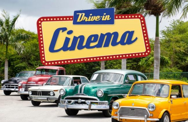Wessex Cancer Trust is holding a drive-in cinema event on the Isle of Wight.