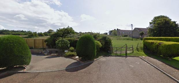 Isle of Wight County Press: The access point to the site in Birch Close. (Image: Google Maps.)