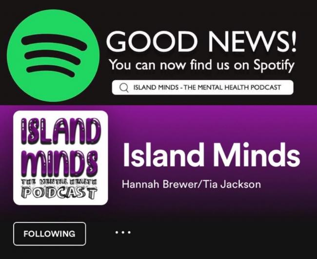 Island Minds is a new podcast focusing on mental health matters.