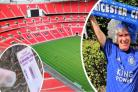 Sandown man Andy Windram will be going to Wembley tomorrow to watch his beloved Leicester face Chelsea.