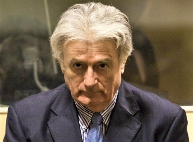 Isle of Wight County Press: War criminal Radovan Karadzic.