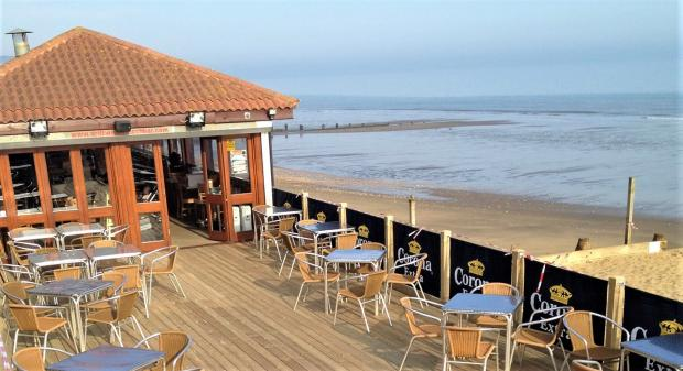 Isle of Wight County Press: The Driftwood Beach Bar, Sandown. Photo: Sean Ware