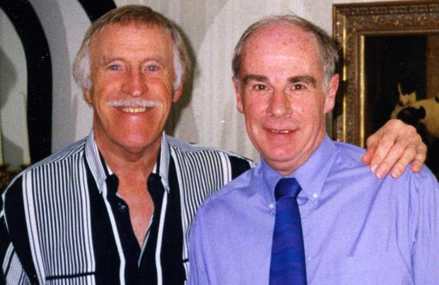 Isle of Wight County Press: With Bruce Forsyth.