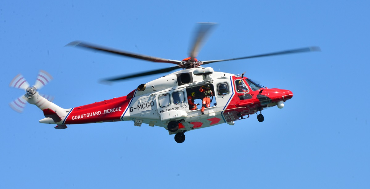 Bembridge RNLI and coastguard helicopter called to cruise ship off the Isle of Wight