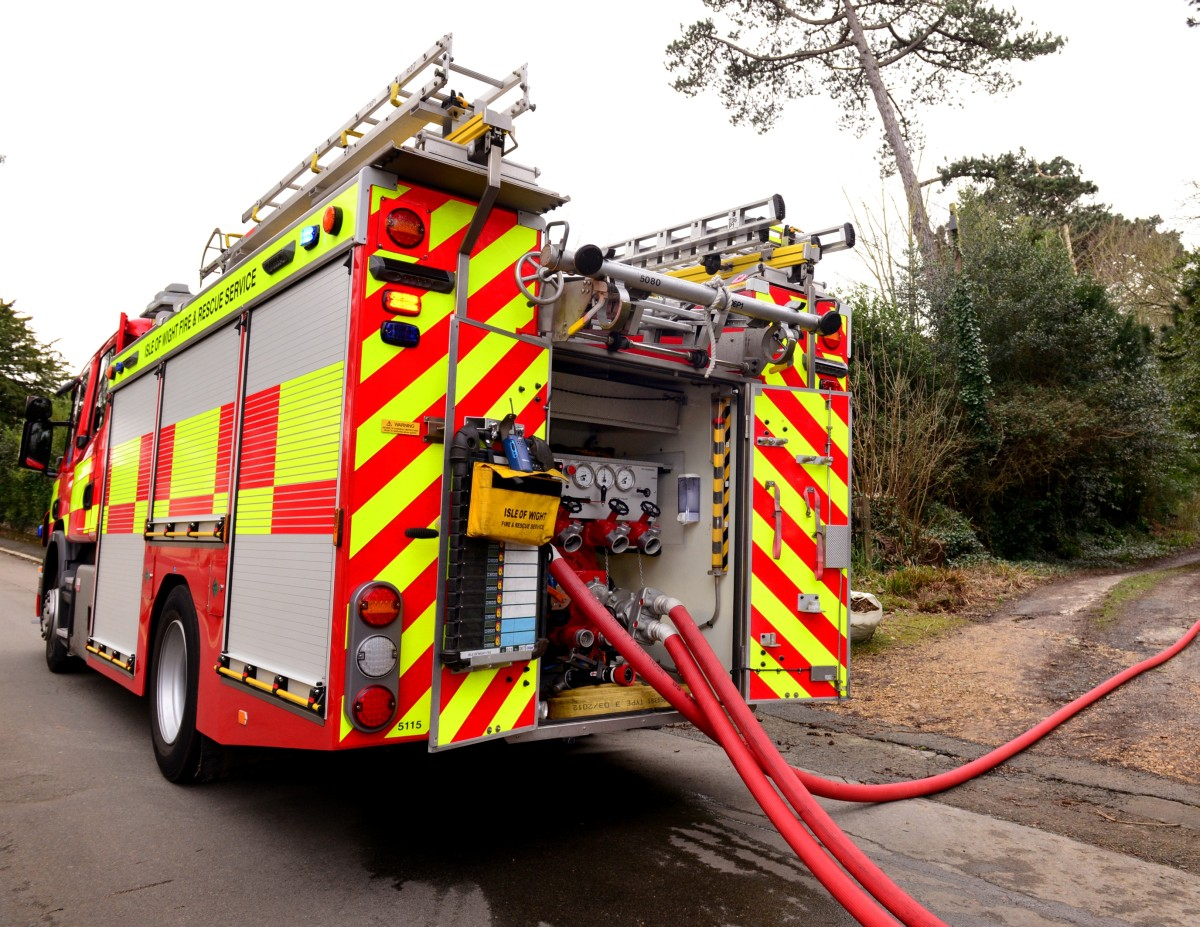 Fire crews called to washing machine on fire