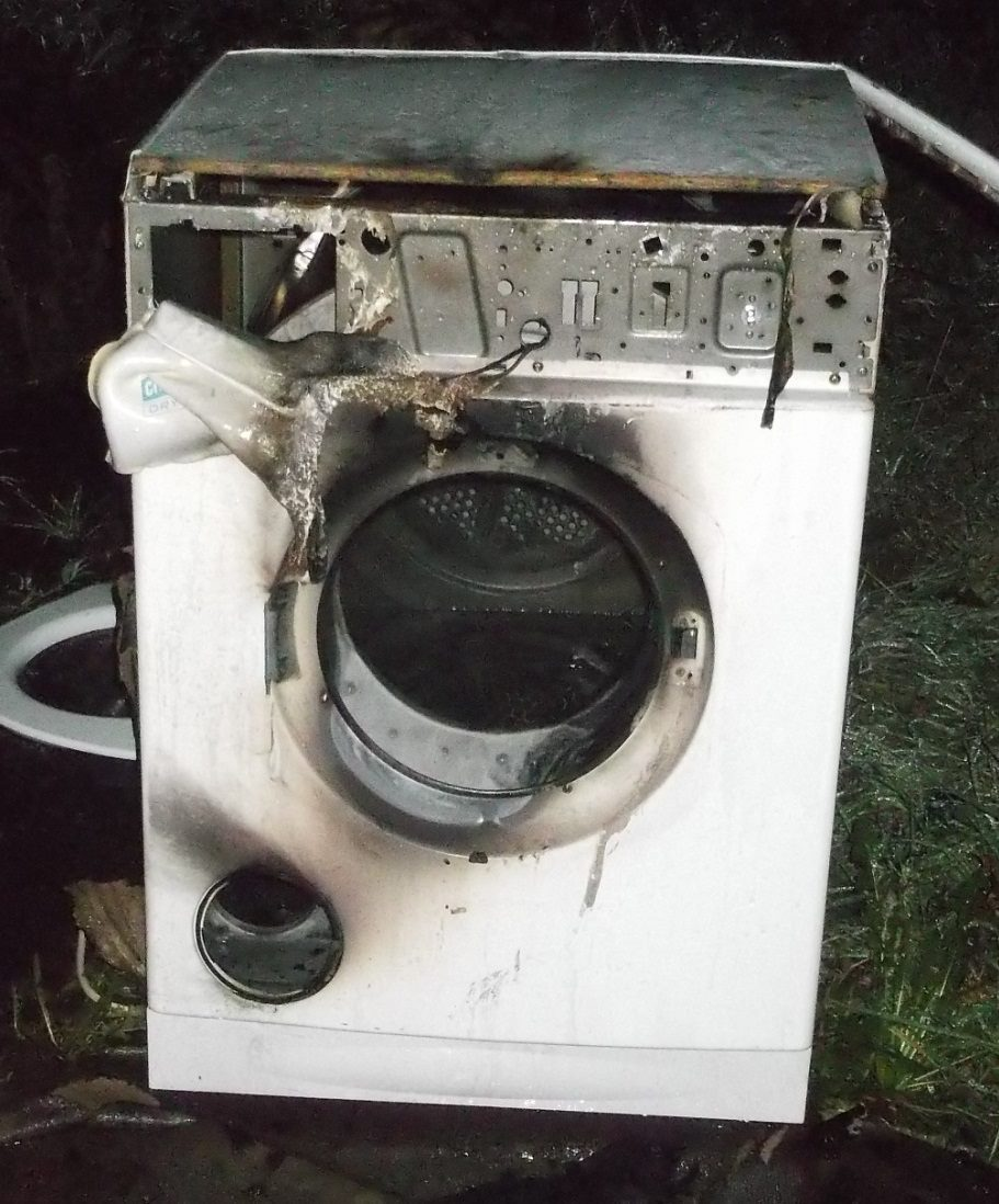 Tumble drier warning issued by firefighters