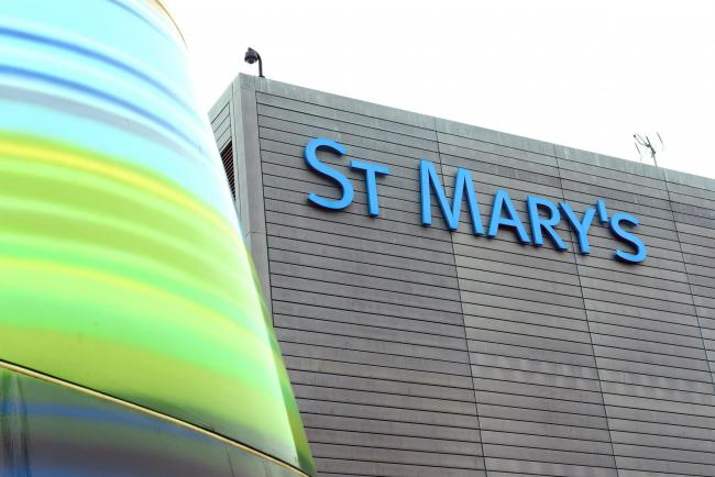 St Mary's Hospital, in Newport, part of the Isle of Wight NHS Trust.