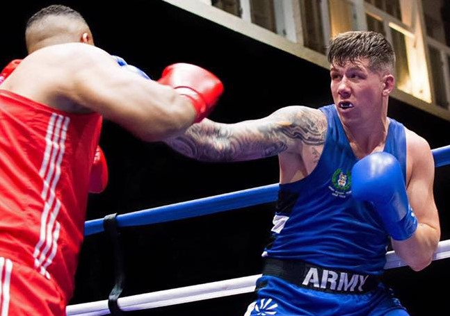 Chez Nihell has already done the Isle of Wight proud in the amateur boxing arena and will be aiming to extend that to the pro ring, starting tomorrow in front of a big crowd at London's O2