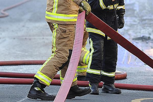 Firefighters respond to fire in the open in East Cowes