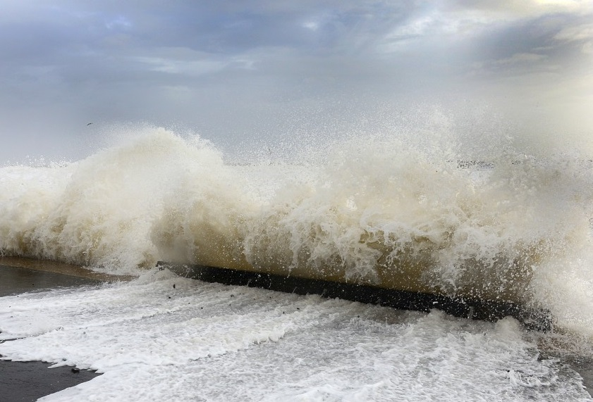 Ferries hit by high winds and torrential rain