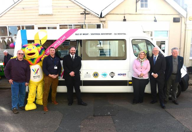 In February: Wessex Cancer Trust celebrated the arrival of the new Daisy Bus.