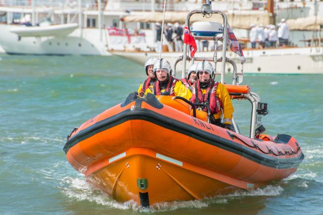 Cowes Lifeboat Has Official Role at Royal Yacht Squadron?s Bicentennial - Nick Edwards.