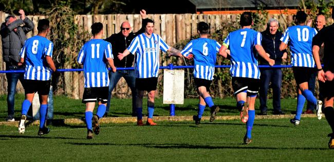 John McKie was on the scoresheet again for Cowes Sports in their vital win away at Hamble Sports.  FILE