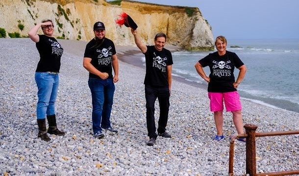 Pirates ships, paintball cannons and roleplaying battles — Isle of Wight pirates get fundraising for new business venture