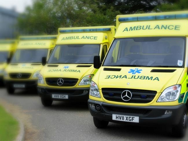 Three ambulances set to accident at Blackwater Hollow