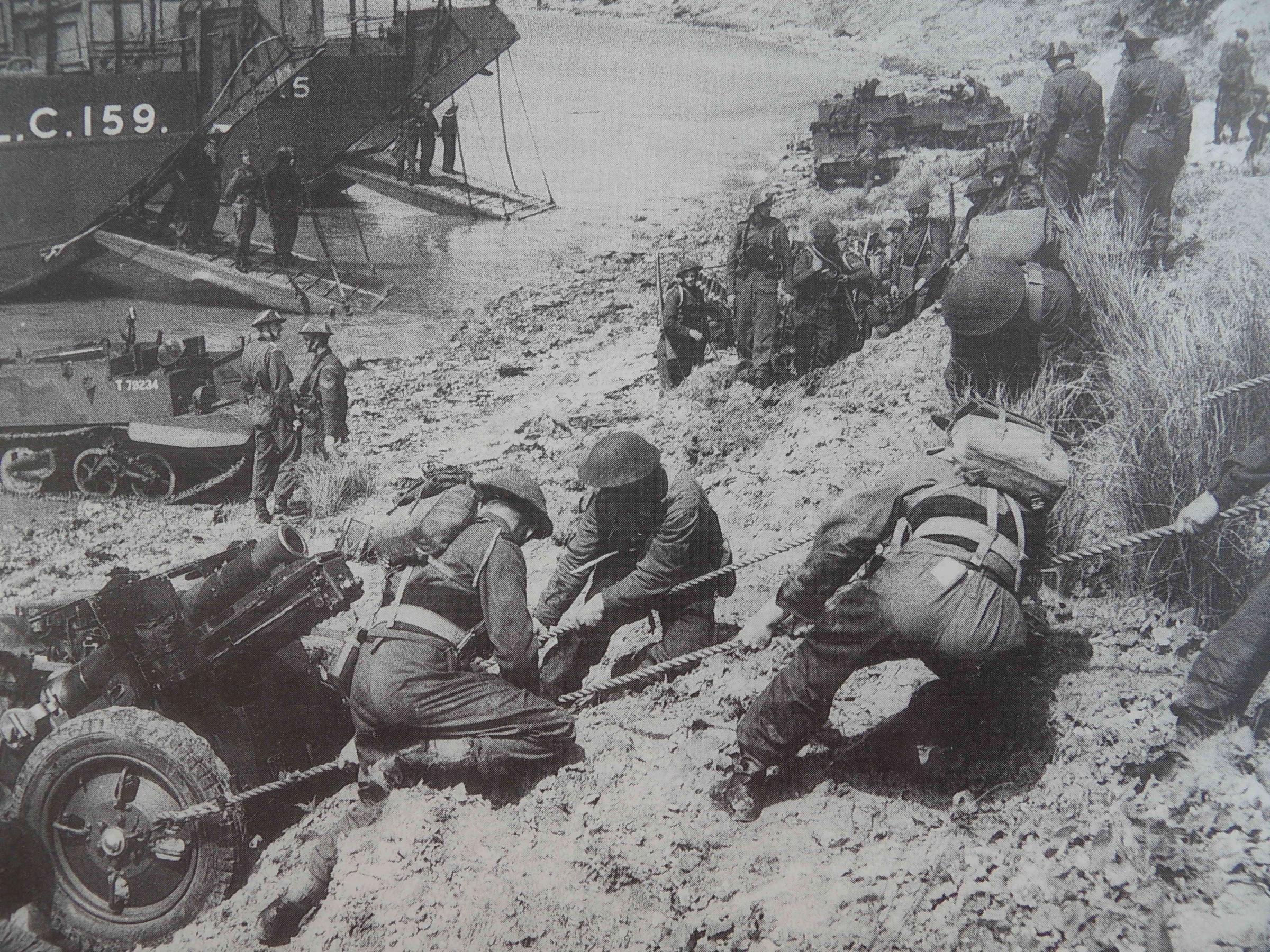 Island played its part in the Normandy landings