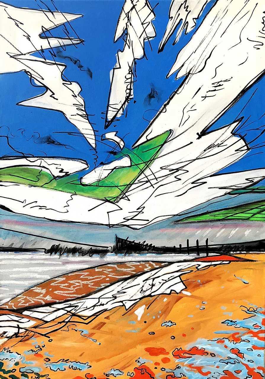 Isle of Wight coastline inspires art exhibition