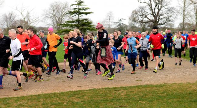 Record numbers of runners took part in Medina parkrun's 400th event in 2019.