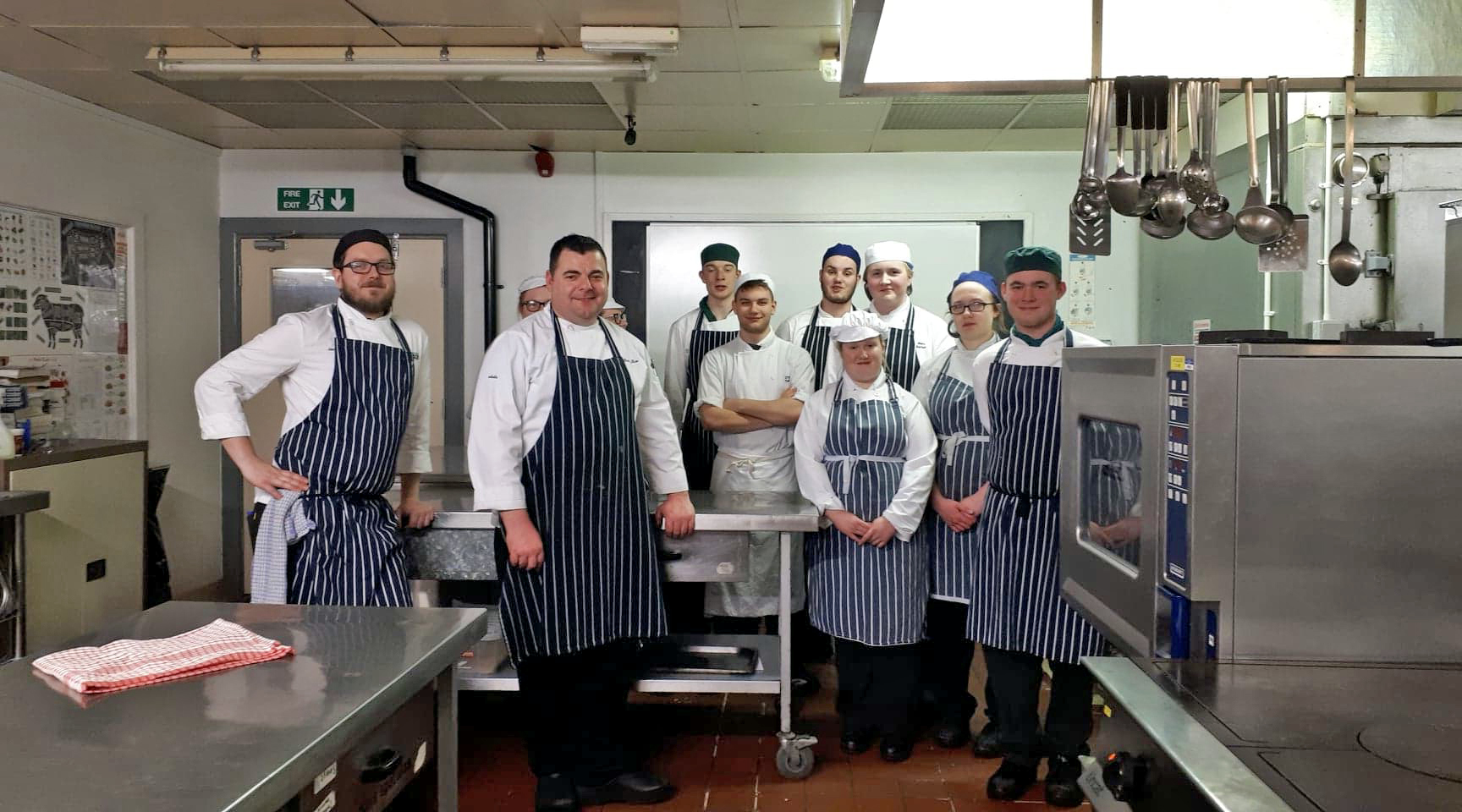Vegan tasting menu served up by Isle of Wight College students