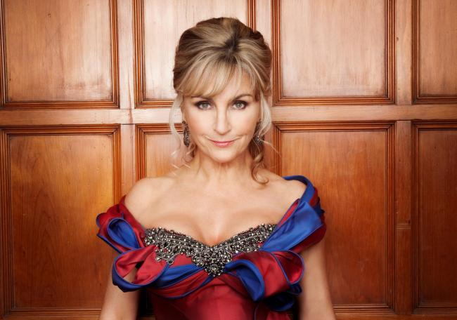Soprano Lesley Garrett is coming to Wight Proms 2019. Photo by Simon Fowler.
