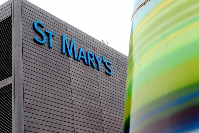 Fire Crews were called to St Mary's Hospital