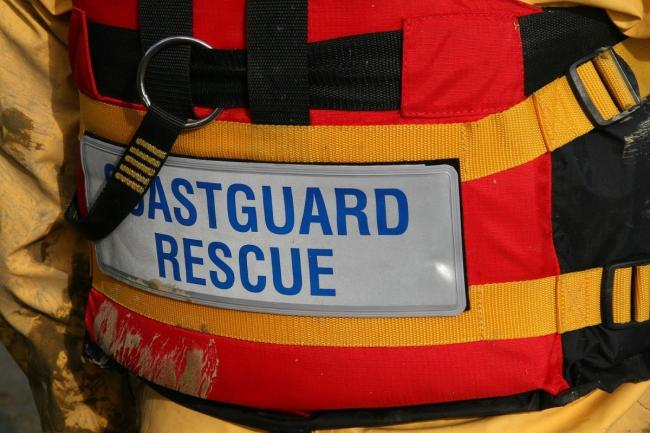 The Ventnor Coastguard Rescue Team was called to the scene.