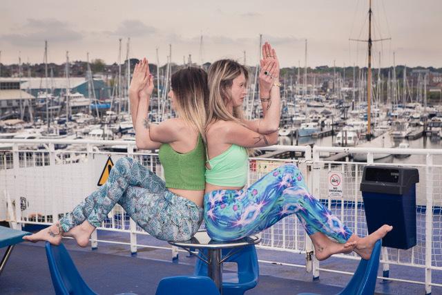 Yoga, meditation. self-care and reflexology at Isle of Wight's first Awakening Festival