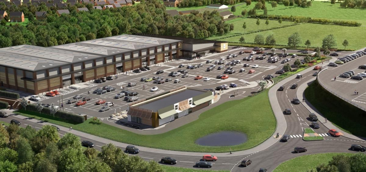 The Newport development could create 200 jobs and an Aldi and Wickes DIY.