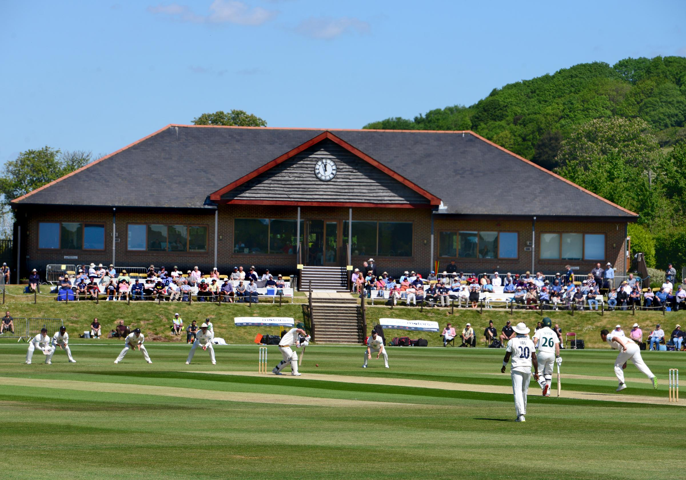 County Championship spectacle 'exceeding all expectations' says leading Newclose trustee