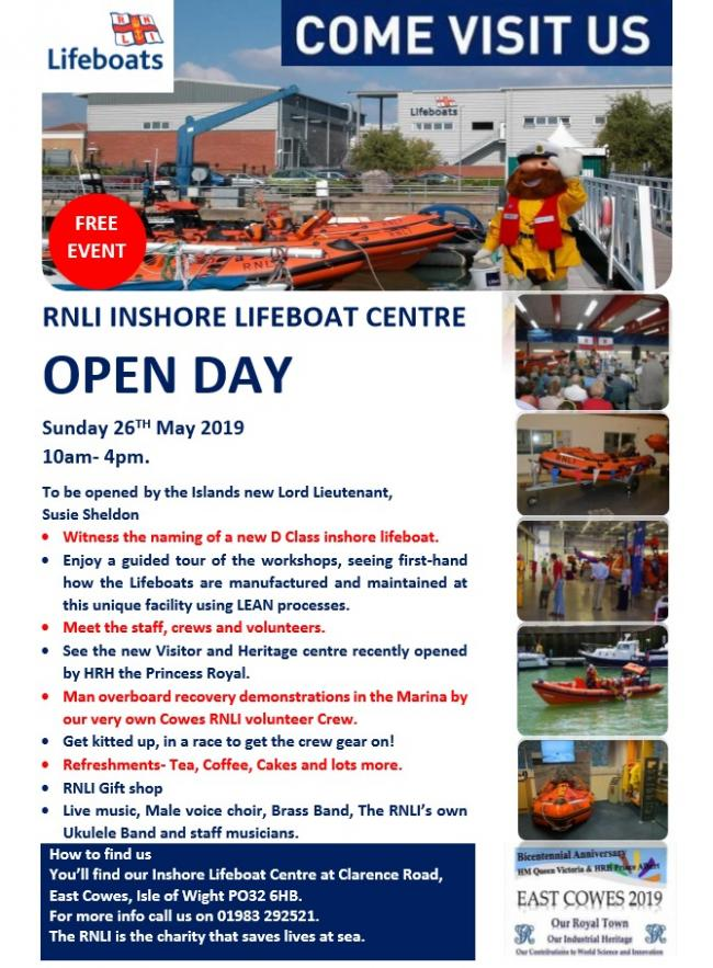 RNLI Inshore Lifeboat Centre Open Day.