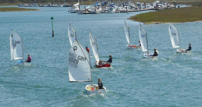 Great sailing on The Solent this weekend with the 61st Yarmouth Gaffers Regatta, starting today (Friday). FILE
