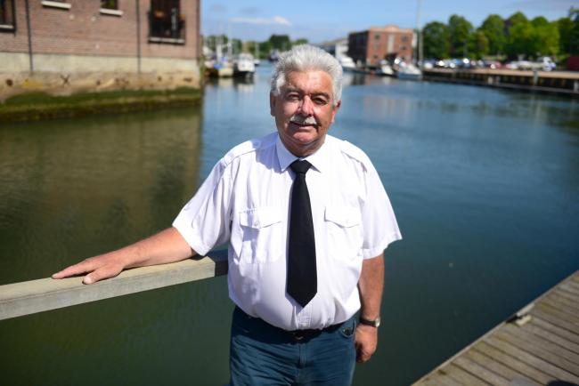 Newport - Newport Harbour - Wayne Pritchett Newport's longest serving Harbour Master retires.