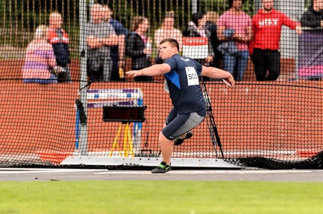 Island discus sensation, Nick Percy, is in superb throwing form. Photo: Bobby Gavin