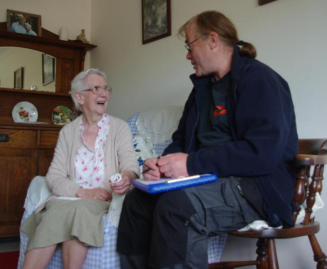 Island charity the Footprint Trust will offer free energy-saving home visits.